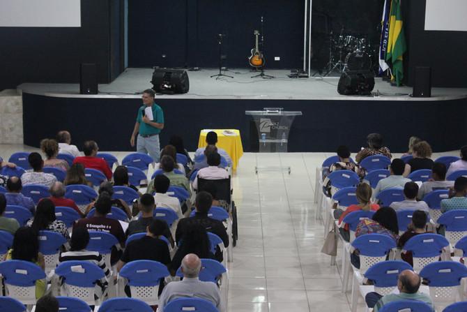 PRIMEIRO DIA DO TREINAMENTO DE EVANGELIZAÇÃO PESSOAL REUNI IGREJAS DE JUAZEIRO, CRATO E BARBALHA
