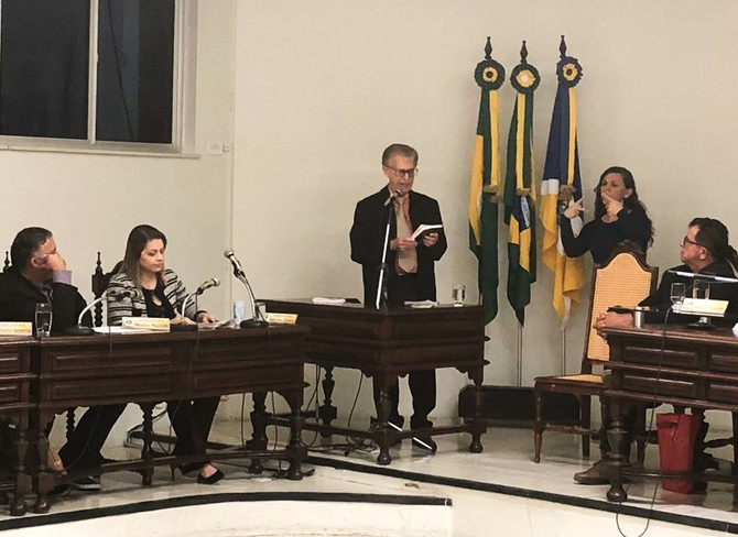 A CÂMARA DE VEREADORES DE JUAZEIRO DO NORTE ABRE AS PORTAS PARA OUVIR A PALAVRA DE DEUS