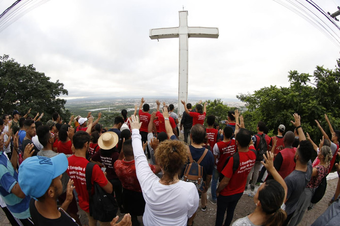 SUBIDA AO HORTO EM ORAÇÃO PELO AMOR DE DEUS SOBRE AS PESSOAS