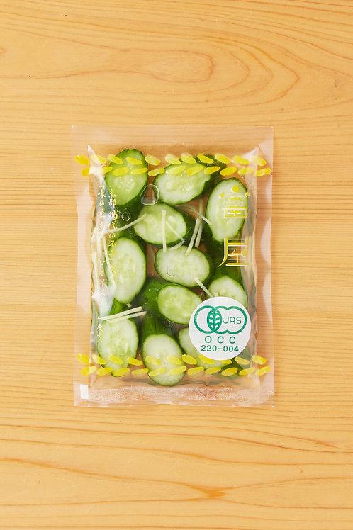 有機胡瓜生姜漬