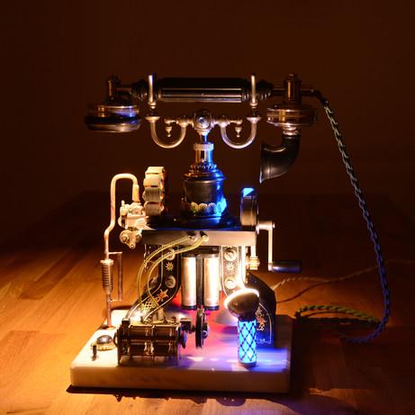Steampunk-Lampen
