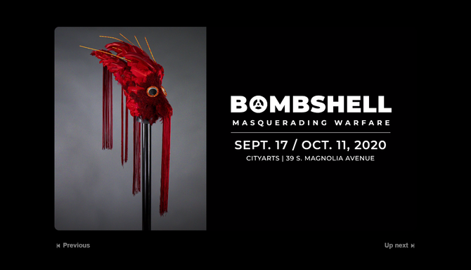 BOMBSHELL: Masquerading Warfare -- an Exhibition by Couturier, Ben Van Beusekom -- Debuts in Orlando