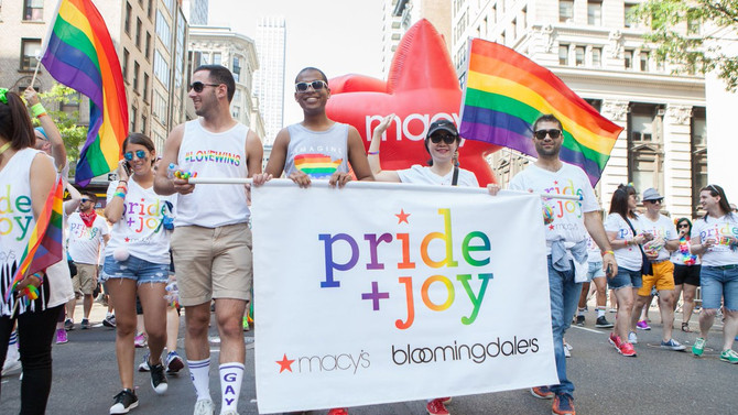 Bloomingdale's & Macy's Celebrate Pride + Joy in NYC