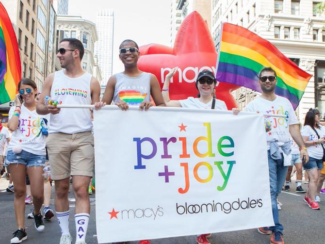Bloomingdale's & Macy's Celebrate Pride + Joy in NYC
