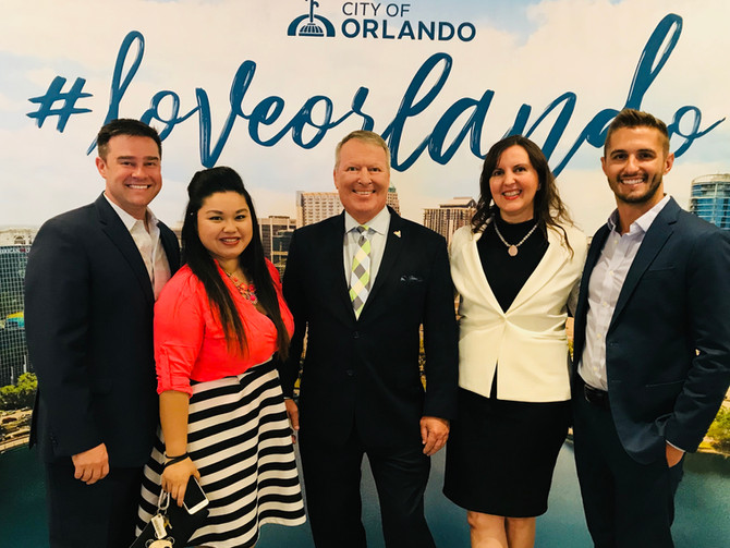 City of Orlando Mayor Delivers State of Downtown Address