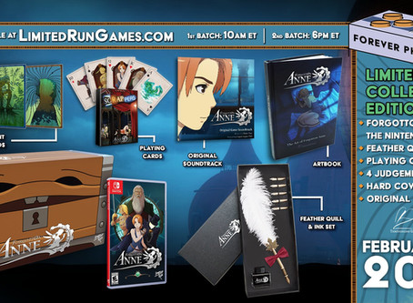 Limited Run Games release!