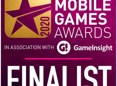 We're nominated for the Pocket Gamer Mobile Games Awards =)