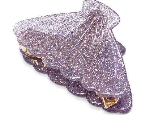 Shell Glitter Clip シェルグリッタークリップ
