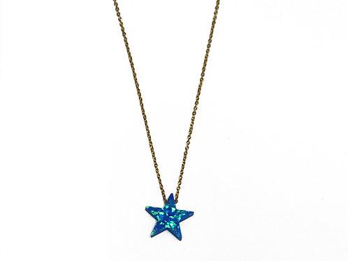 Synthetic Opal (シンセティックオパール)ネックレス Star(スター)