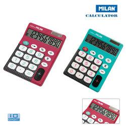 MILAN カリキュレーター 150610 DB ドット 電卓 計算機 卓上電卓 ミラン 10桁表示