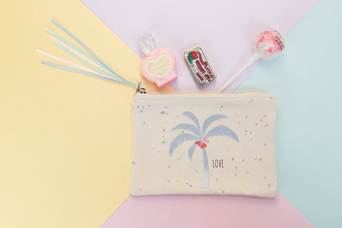 Glitter Cotton Pouch(グリッターコットンポーチ)