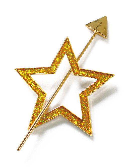Glitter Hair Stick Star(グリッターヘアスティック スター)