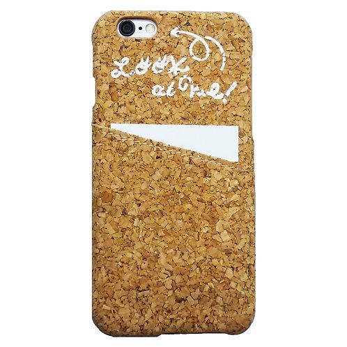 ' Look at Me ' Cork I Phone Case (コルクアイフォンケース)