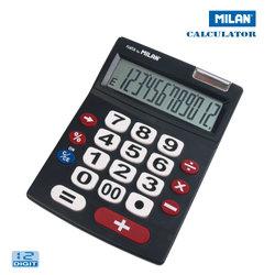 MILAN (ミラン)  カリキュレーター 151712 電卓 12桁表示 計算機