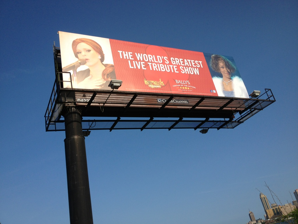 JC Brando as Adele Legends Billboard