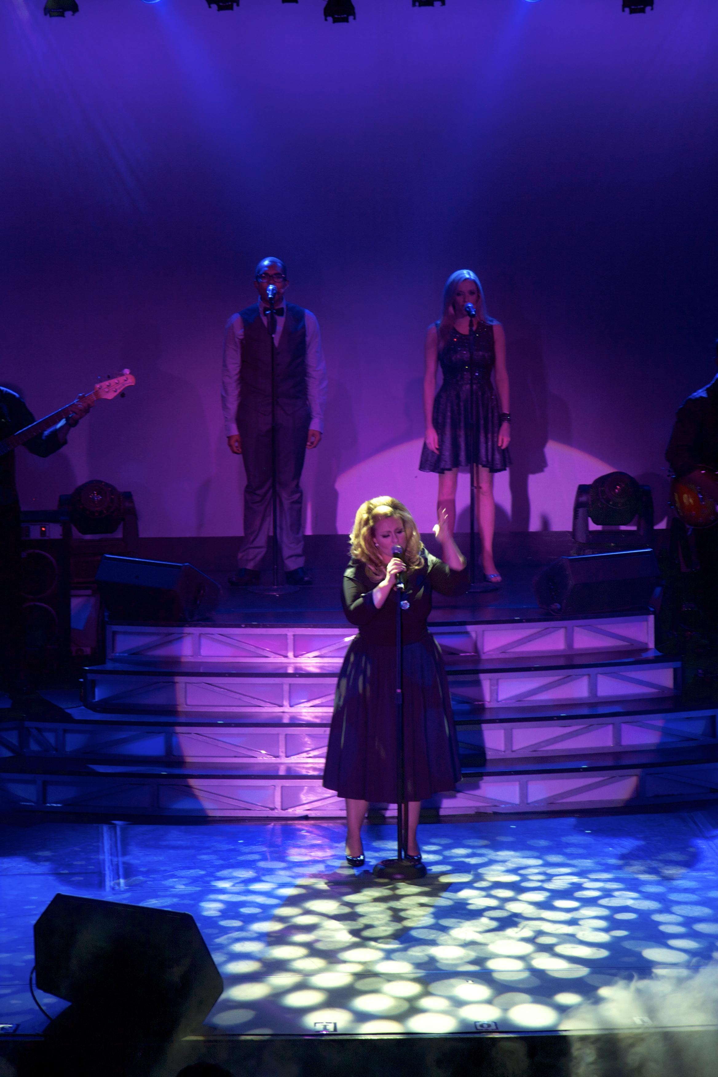 JC Brando as Adele live stage 1