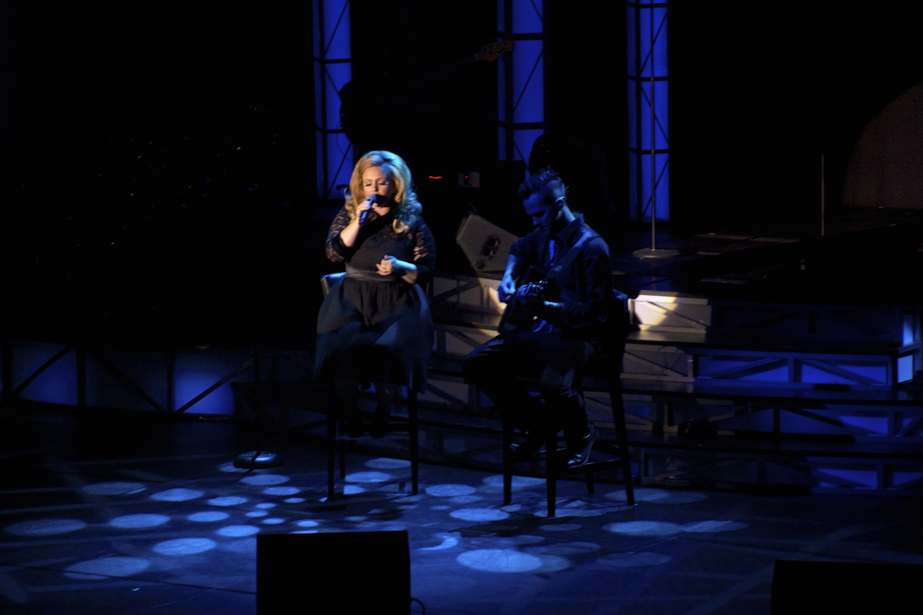 JC Brando as Adele live stage 3