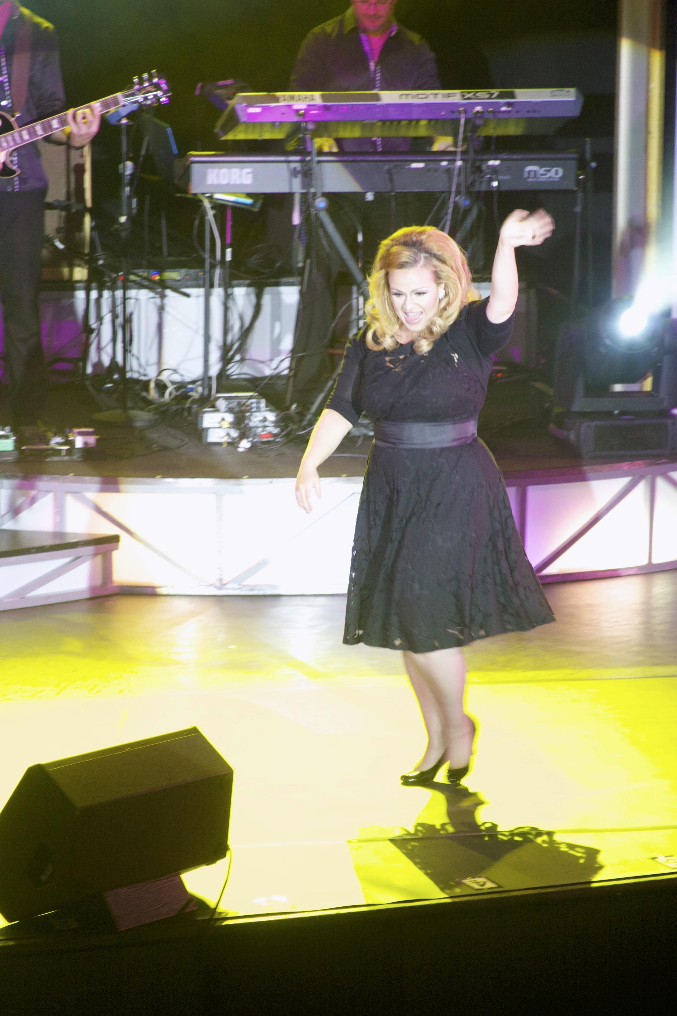JC Brando as Adele live stage 9