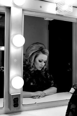 JC Brando as Adele mirror head down