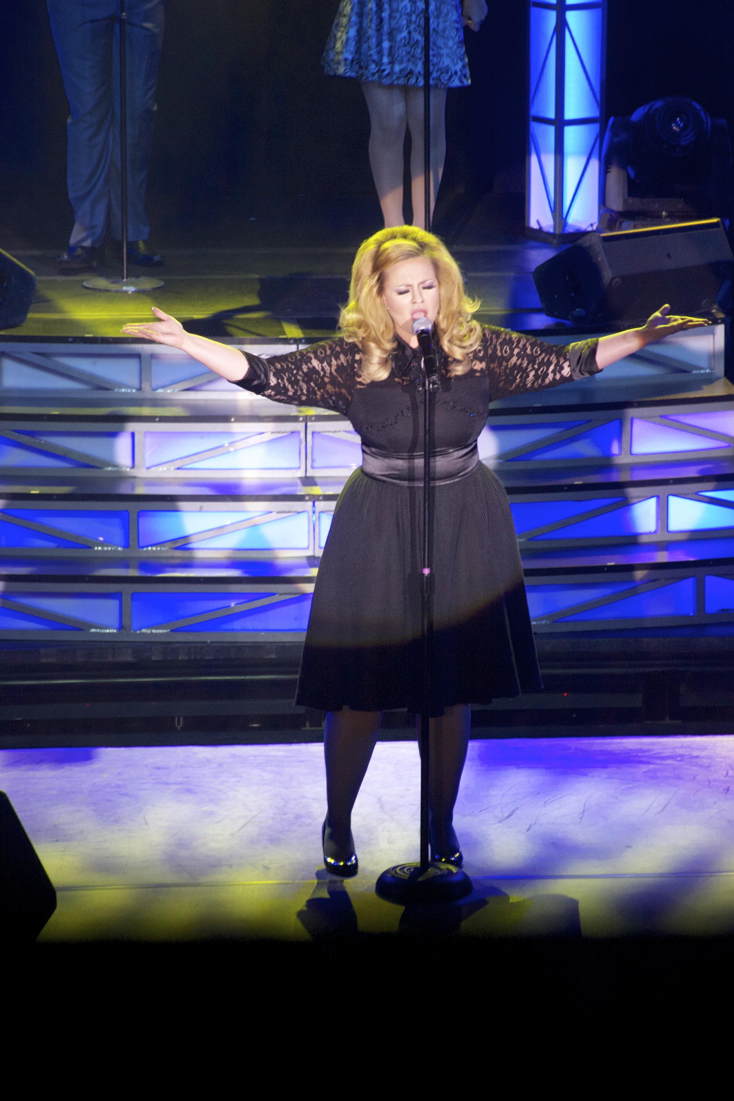 JC Brando as Adele live stage 13