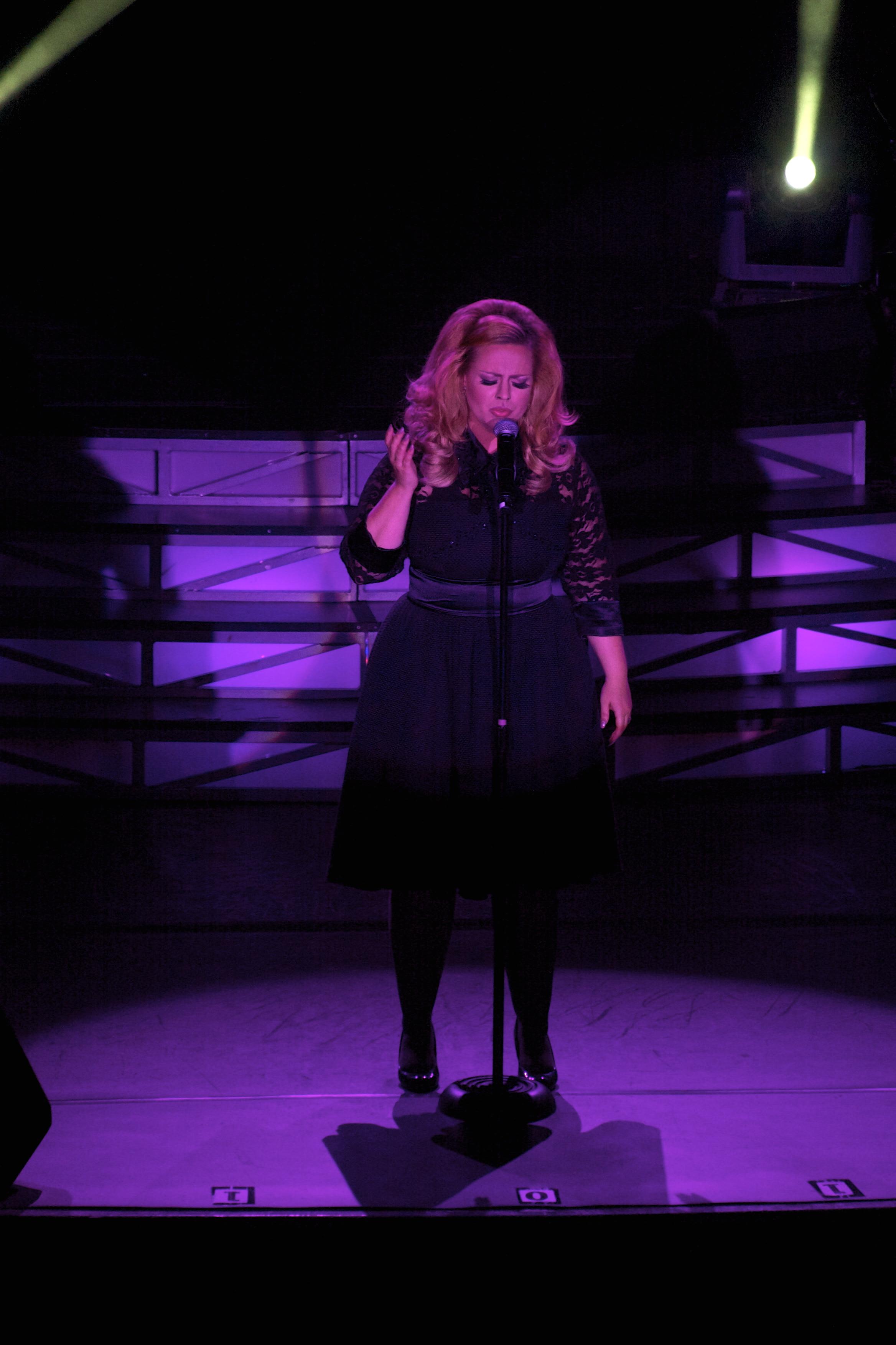 JC Brando as Adele live stage 11