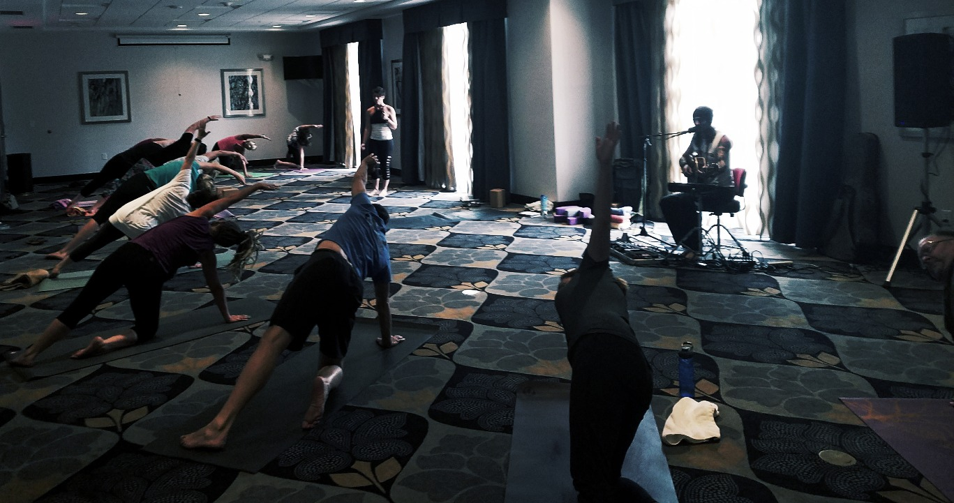 Yoga with Live Music