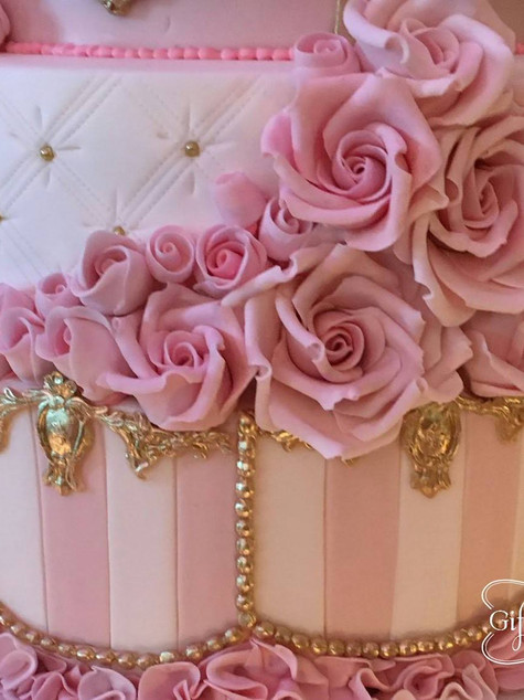 The Ritz celebration cake