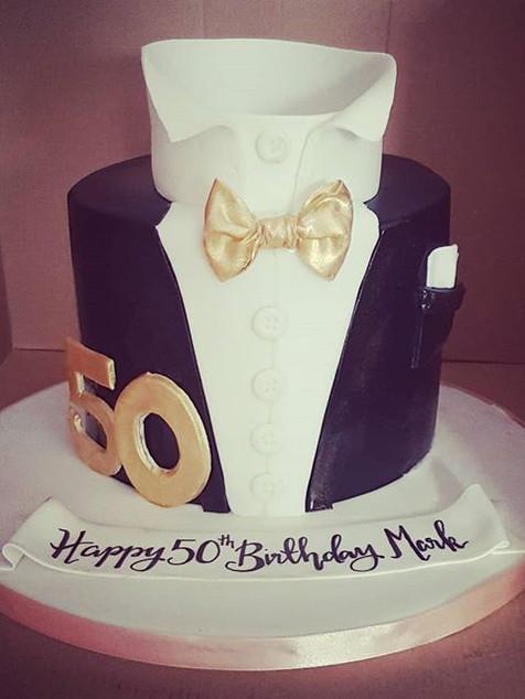 Tux birthday cake