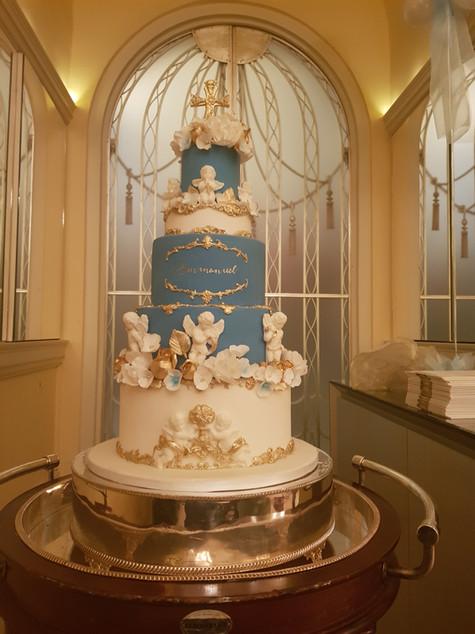 Claridges Christening Cake