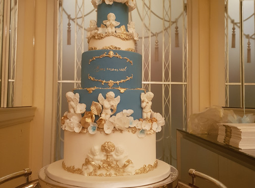 Claridges London - Christening Cake