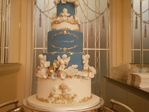 Claridges London - Christening Cake