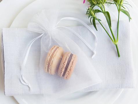 Macaron favours for wedding