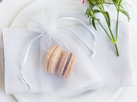Macaron favours for wedding