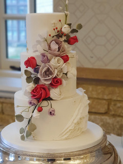 Pennyhill Park Wedding Cake