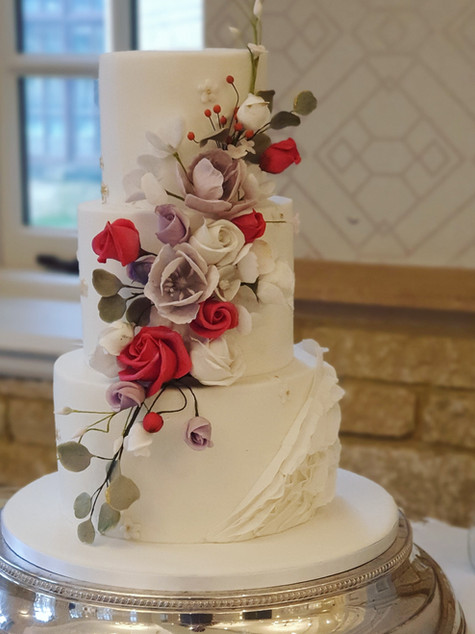 Pennyhill Park Wedding Cake