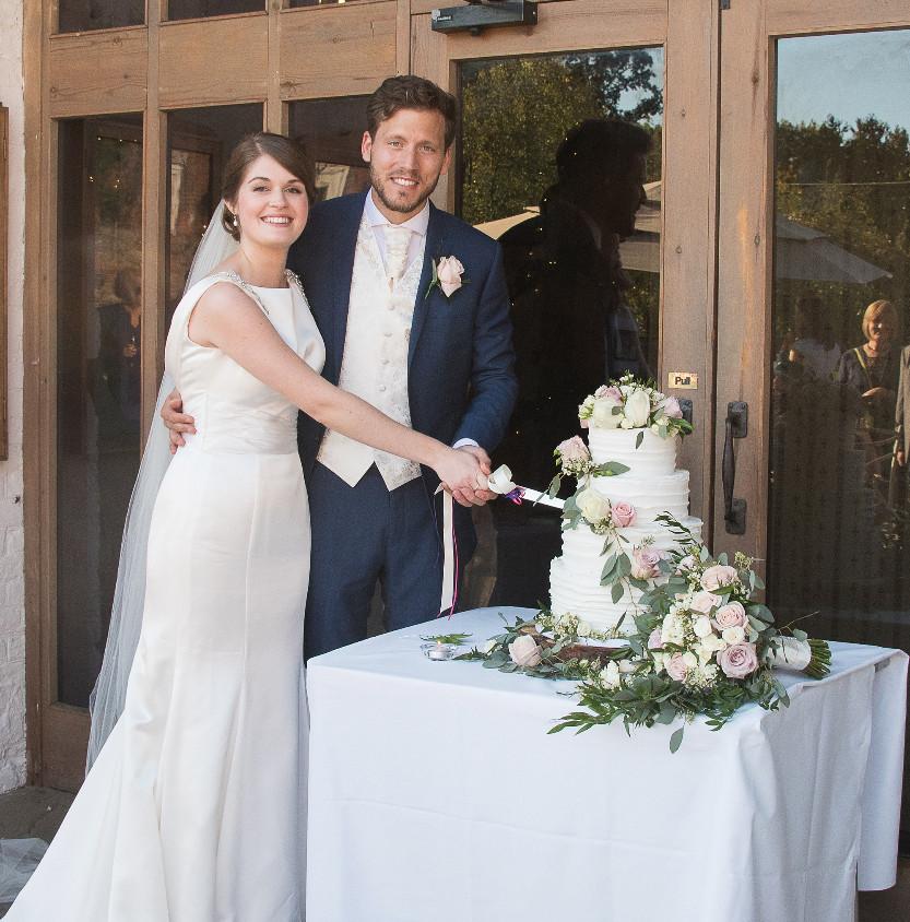 Ufton Court Wedding Cake