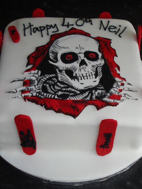 Skaters cake