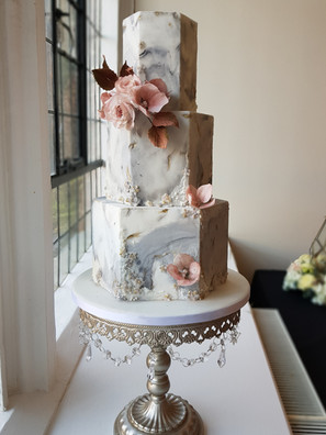 3 Tier Marble