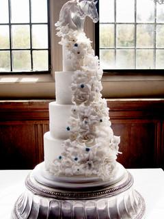 Horse Head Wedding Cake
