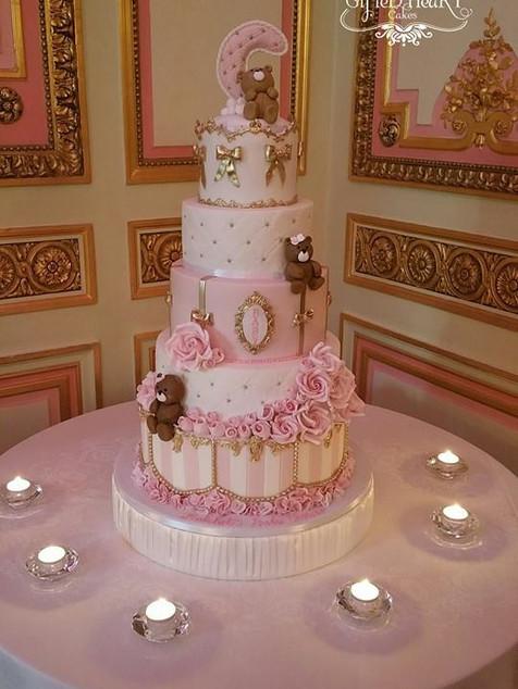 The Ritz baby shower cake