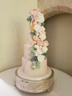 Wedding cakes at Farnham Castle
