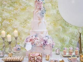 The Elvetham luxury desert table