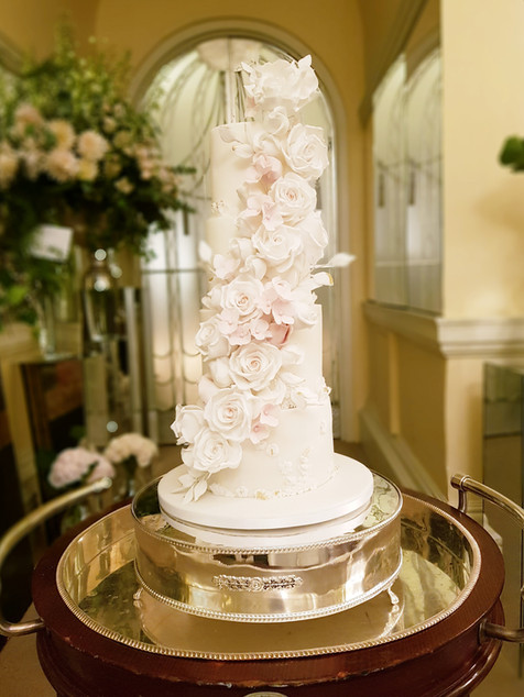 Claridges Wedding Cake