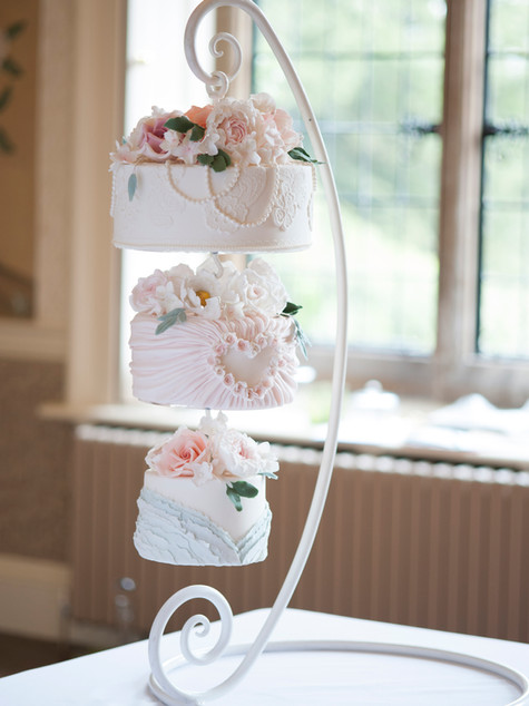 suspended cake