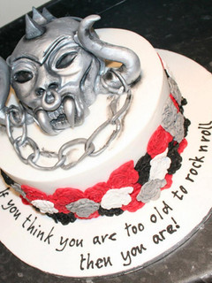 Motorhead birthday cake