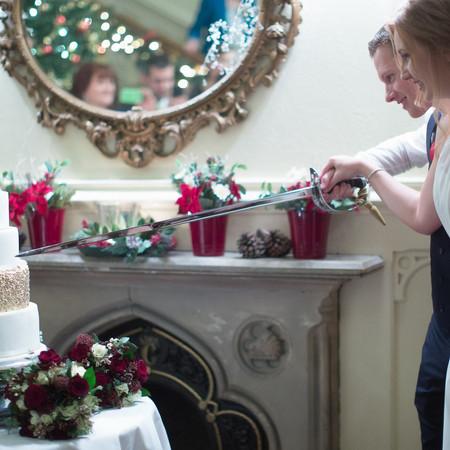 Elvetham Hotel Wedding Cake