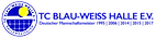 Logo TC B. W. HAlle e. V.