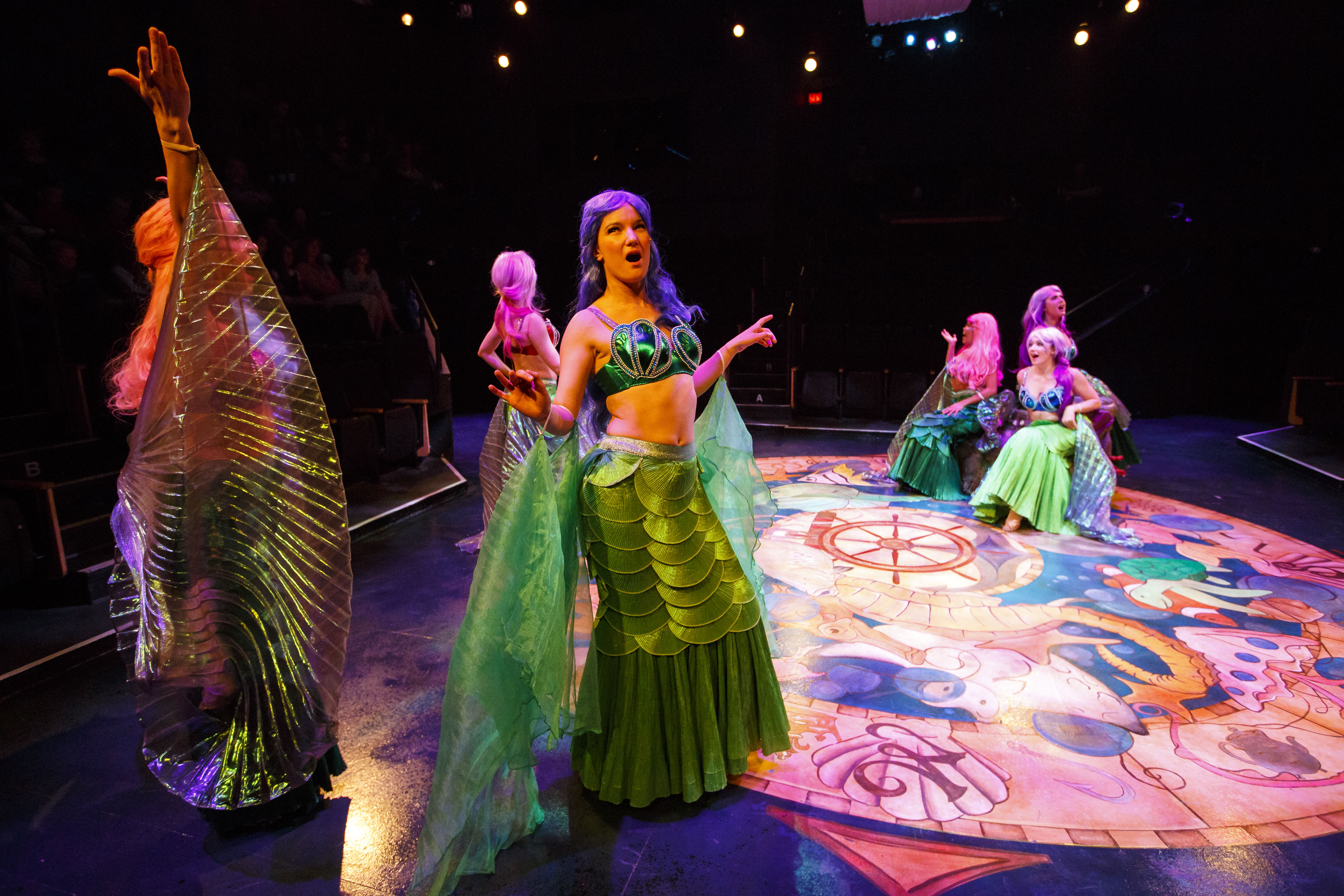 The Little Mermaid - Globe Theatre
