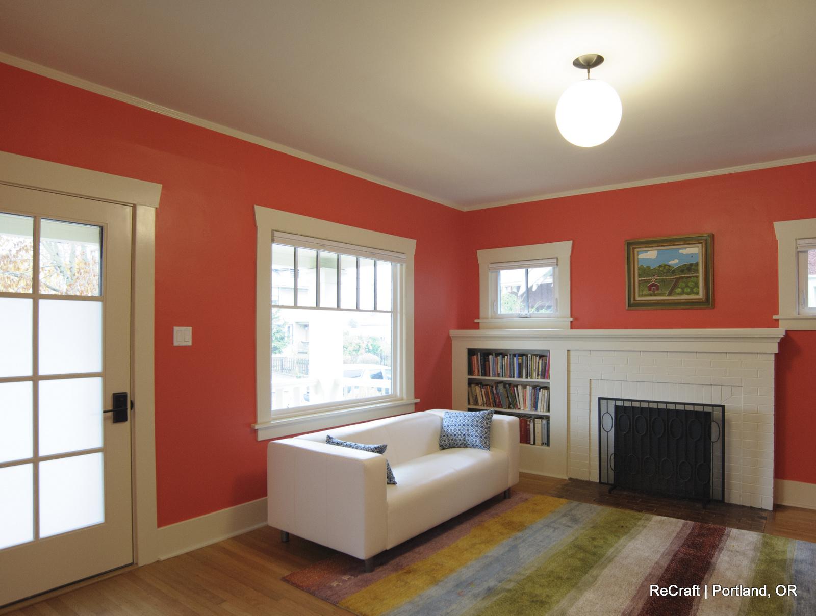Portland, OR | Living Room Remodel