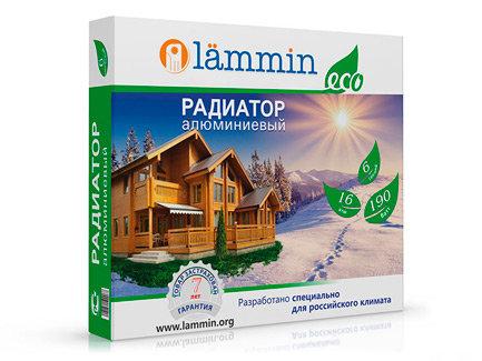 Радиатор ал.  LAMMIN ECO 500/80 - 4 секции